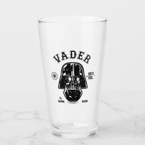 Darth Vader Dark Side Badge Glass