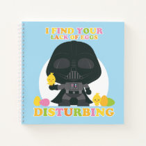 Darth Vader - I Find Your Lack of Eggs Disturbing Notebook