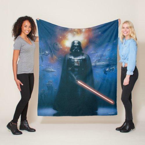 Darth Vader Imperial Forces Illustration Fleece Blanket