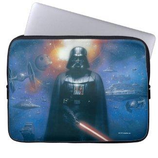 Darth Vader Imperial Forces Illustration Laptop Sleeve