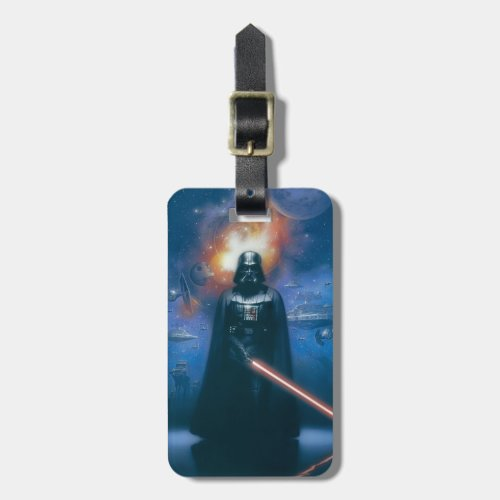 Darth Vader Imperial Forces Illustration Luggage Tag