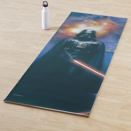 Darth Vader Imperial Forces Illustration Yoga Mat