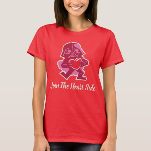 Darth Vader _ Join The Heart Side T_Shirt