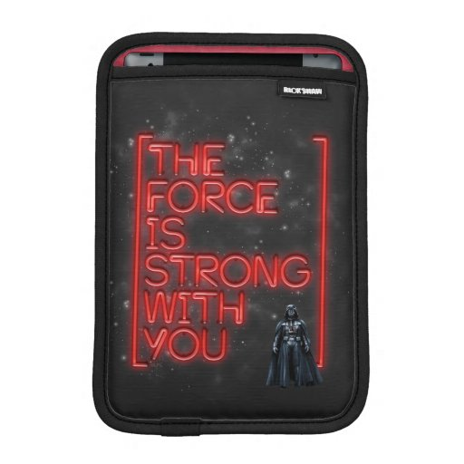 Darth Vader - The Force Is Strong With You iPad Mini Sleeve