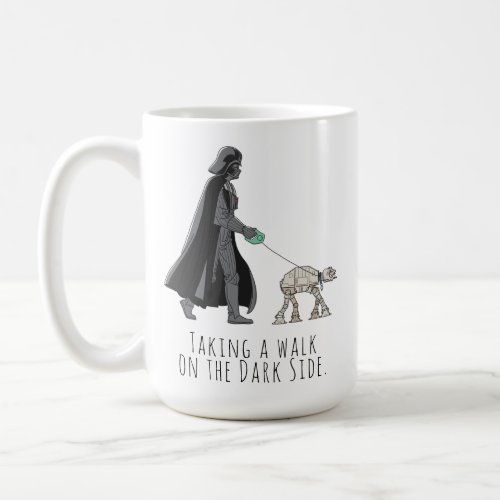 Darth Vader Walking Pet AT_AT Coffee Mug