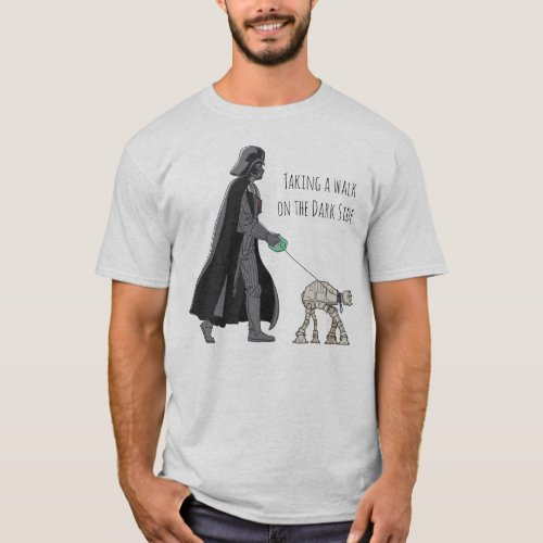 Darth Vader Walking Pet AT_AT T_Shirt