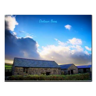 Dartmoor Barns postcard