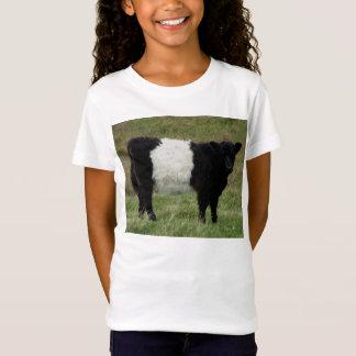 Dartmoor Belted Galloway Calf Looking T-Shirt