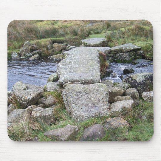 Dartmoor clapper bridge mouse pad