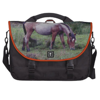 Dartmoor Pony Grazing Autumn Bag For Laptop