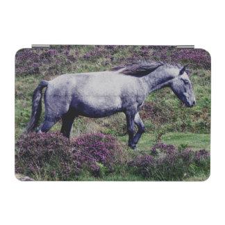 Dartmoor Pony Roaming In The Heather iPad Mini Cover