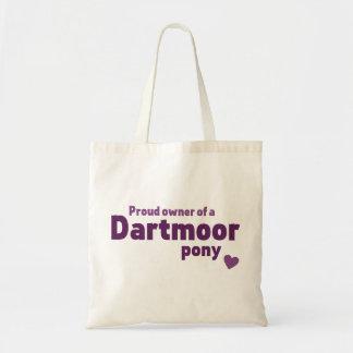 Dartmoor pony tote bag