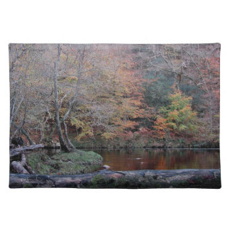 Dartmoor River Dart Holne Chase Autunm .2. Placemat