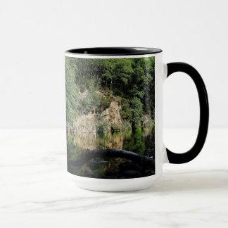 Dartmoor River Dart Holne Chase In Summer  (1) Mug