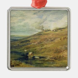 Dartmoor: The Source of the Tamar and the Torridge Metal Ornament