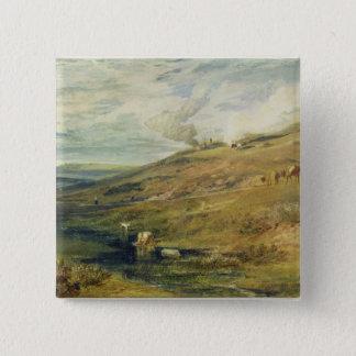 Dartmoor: The Source of the Tamar and the Torridge Pinback Button