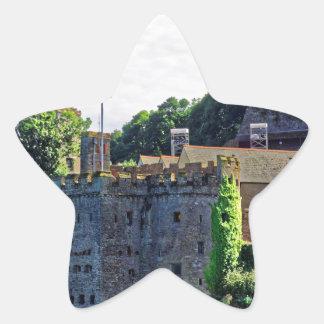 Dartmouth Castle #2, Devon, England Star Sticker