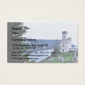 Dartmouth Castle Business Card