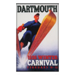 Dartmouth Winter Carnival Reproduction Posters