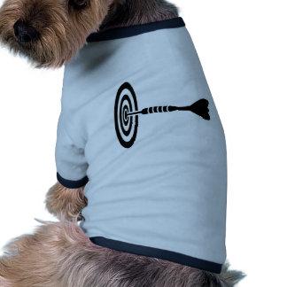Darts dartboard pet t-shirt