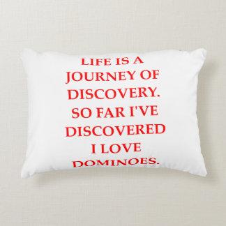 darts decorative pillow