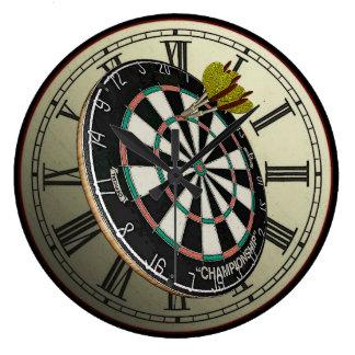 Darts Design Wall Clock