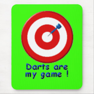 darts-game mouse pad