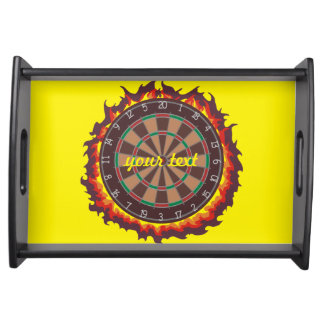 Darts Game Personalized Serving Tray
