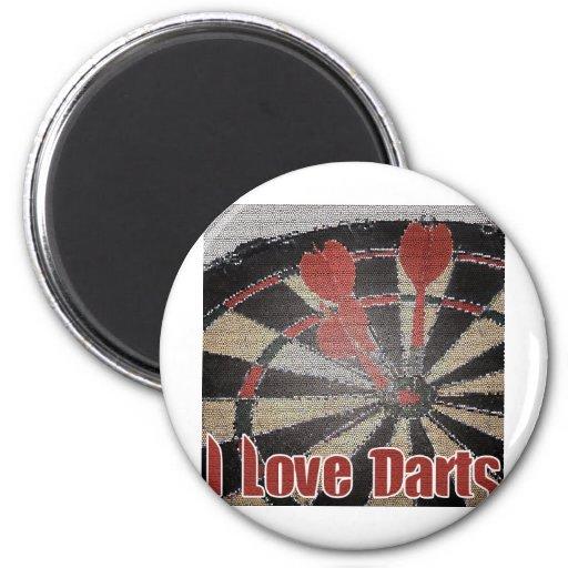 Darts iGuide Aces Refrigerator Magnet