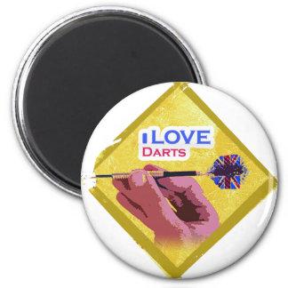 Darts iGuide Dart Mania 2 Inch Round Magnet