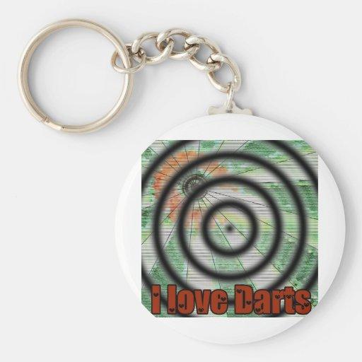 Darts iGuide Hummer Spot Basic Round Button Keychain