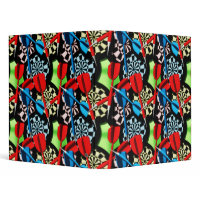 Darts Pattern Notebook binder