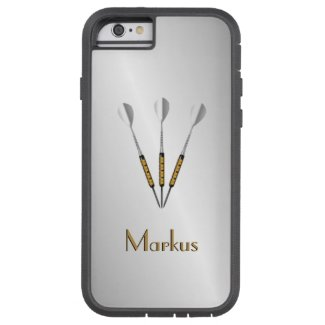 Darts Personalized / Monogram Case-Mate iPhone Case