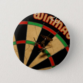 Darts Pinback Button