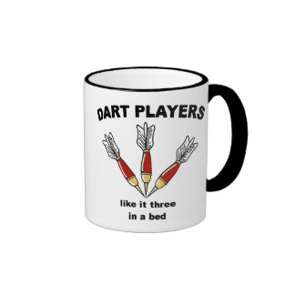 Darts Ringer Coffee Mug