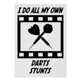 Darts Stunts Poster