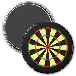 Darts target magnet