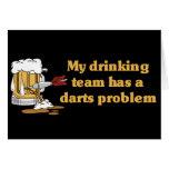 Darts Team Card
