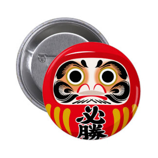 Daruma Doll Pins