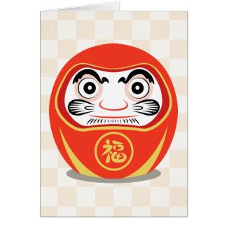 Daruma Doll Card