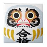Daruma Doll Ceramic Tile
