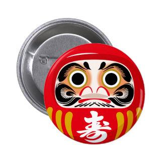 Daruma Doll Pinback Button