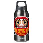 Daruma Doll 10 Oz Insulated SIGG Thermos Water Bottle