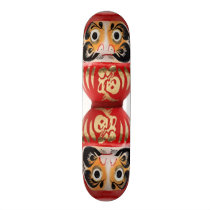 Daruma doll skateboard deck