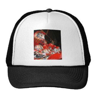 Daruma San Japanese Good Luck Dolls Trucker Hat