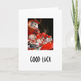 Daruma san gifts on zazzle daruma san japanese good luck dolls card m4hsunfo