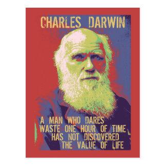 Darwin 1 postcard