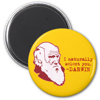 Darwin 2 Inch Round Magnet