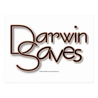 Darwin ahorra postal