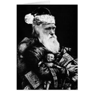 Darwin Atheist Christmas Card